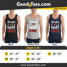 Load image into Gallery viewer, Grandfather of The Wild One 1st Birthday Party Men's Tank Top