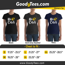 Load image into Gallery viewer, I Am A Catch Potter Golden Snitch Matching Engaged Women's Fit Shirt