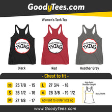 Load image into Gallery viewer, I'm His Favorite Thing Two The Cat In The Hat Couples Matching Women's Tank Top