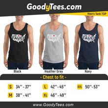 Load image into Gallery viewer, In Dr Fauci We Trust United States Vintage Men's Tank Top