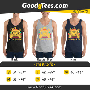 Retro 40th Gamer Birthday Party Gift Men's Tank Top