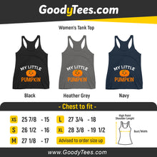 Load image into Gallery viewer, My Little Pumpkin Maternity Reveal Halloween Couples Women's Tank Top