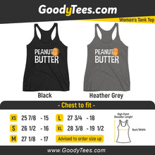 Load image into Gallery viewer, Peanut Butter Jelly Toast Matching Sets Women's Tank Top