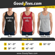 Load image into Gallery viewer, Stay At Home Quarantine Netflix Red Men's Tank Top