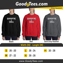 Load image into Gallery viewer, Social Distancing Quarantine & Chill Netflic Unisex Sweatshirt