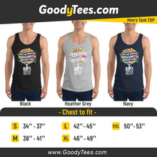 Load image into Gallery viewer, Ellie And Carl UP Greatest Adventure Balloons Home Men's Tank Top
