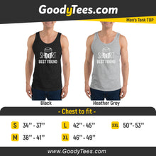 Load image into Gallery viewer, Short BFF 4 Ever Coffee Matching Men's Tank Top