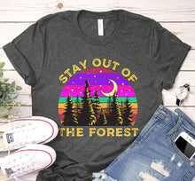 Load image into Gallery viewer, Stay Out Of The Forest Ssdgm My Favorite Murder Vintage Shirt