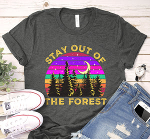 Stay Out Of The Forest Ssdgm My Favorite Murder Vintage Shirt