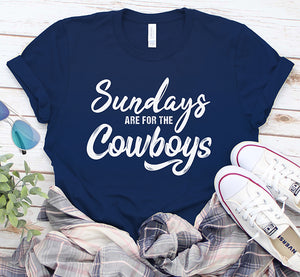 Sundays are for the Cowboys Dallas Football Fan Shirt
