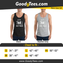 Load image into Gallery viewer, Tall Best Friends 4 Ever Latte Match Men's Tank Top