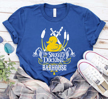 Load image into Gallery viewer, The Snuggly Duckling Rapunzel Barhouse Disney Shirt