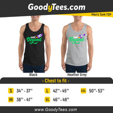 Load image into Gallery viewer, And Beyond Buzz Lightyear Space Rocket Toy Story Men's Tank Top