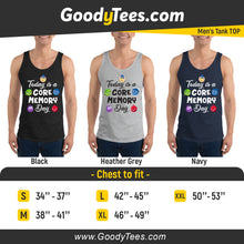 Load image into Gallery viewer, Feelings Core Memory Day Funny Pixar Movie Men's Tank Top