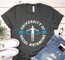 Load image into Gallery viewer, University of Social Distancing 2020 Seniors Quarantine Shirt