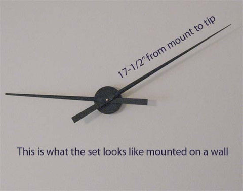 Large wall clock sets