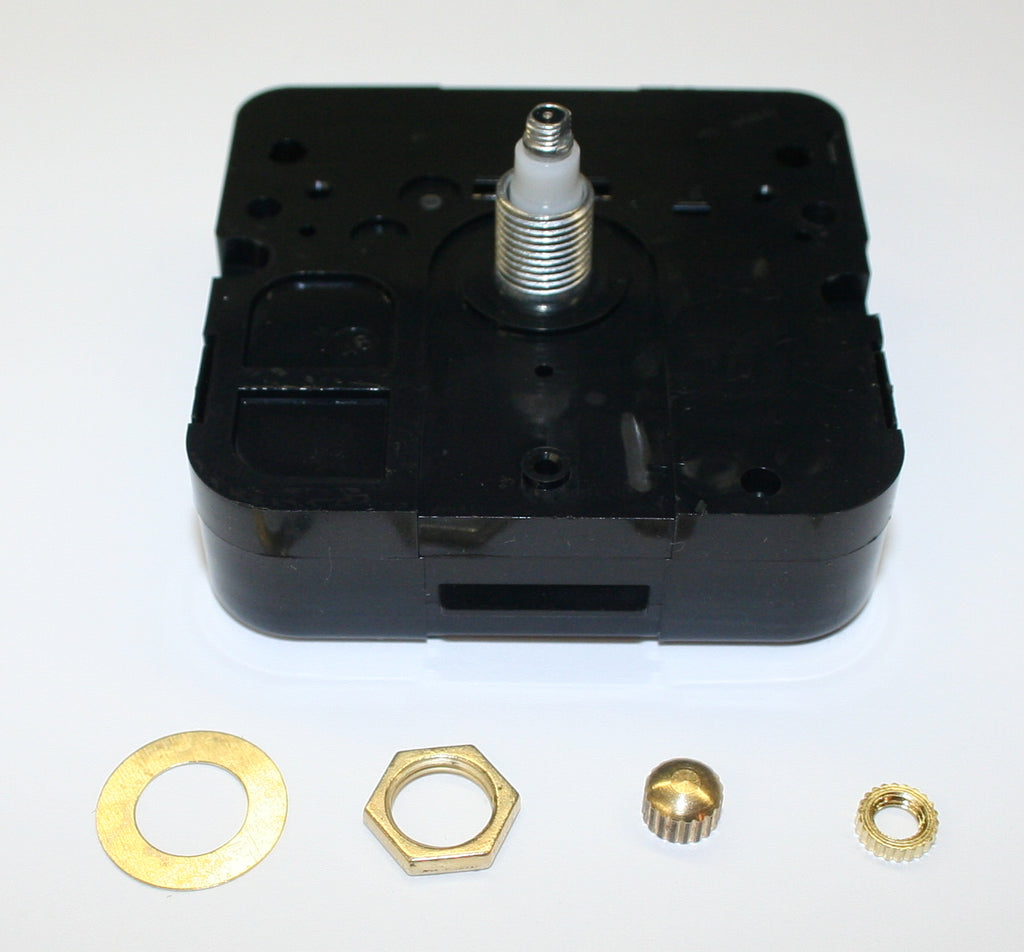 "High torque mini quartz movement for 1/4"" thick material"