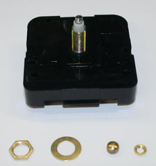 "Quartz clock movement for 1/2"" thick clock face"