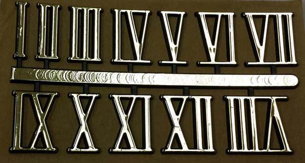 peel and stick numerals