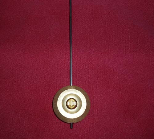 French Clock pendulum and hook