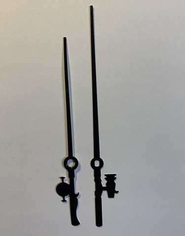 "3-3/4"" Fishing Rod style hands for quartz clock movements"