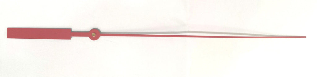 "4-1/2"" Red sweep second hand for quartz clock movements"