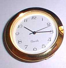 quartz clock fit up