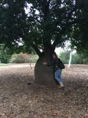 Tree Hugging Trish