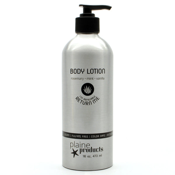 Natural Body Lotion by Plaine Products