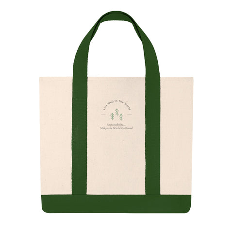 Live Well Shopping Tote
