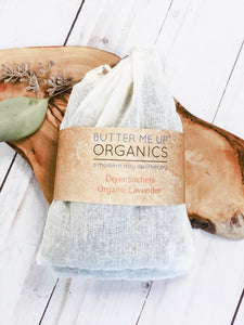 Dryer Sachets- Organic Lavender Dryer Sachets