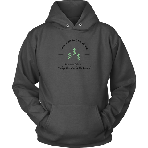 Live Well Eco-Swag Adult Hoodie