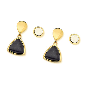 Triangle Drop Magnetic Earring