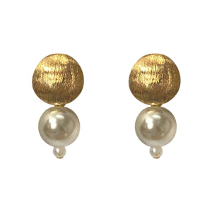 Marilia Capisani Small Pearl Fashion Earring