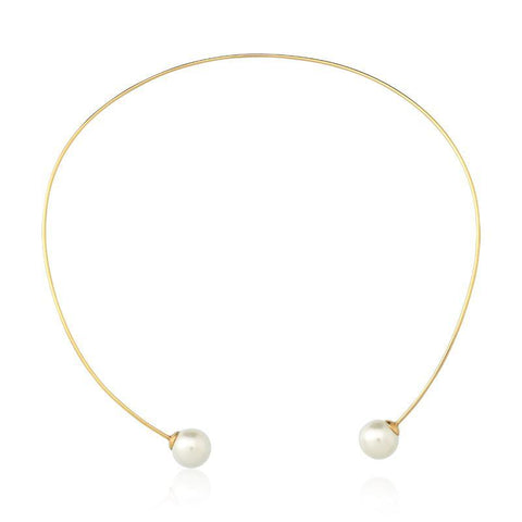 Rio Design Two Pearls Choker