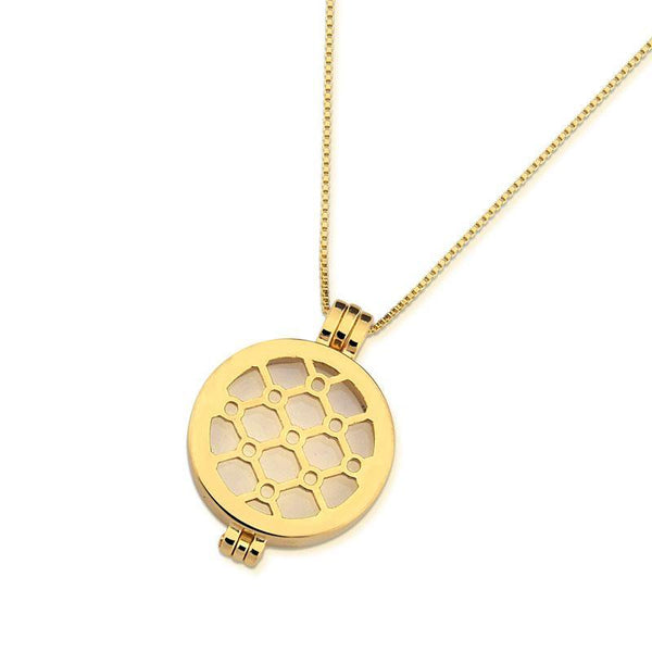 SECRET COIN COMBO - HEXAGON PENDANT