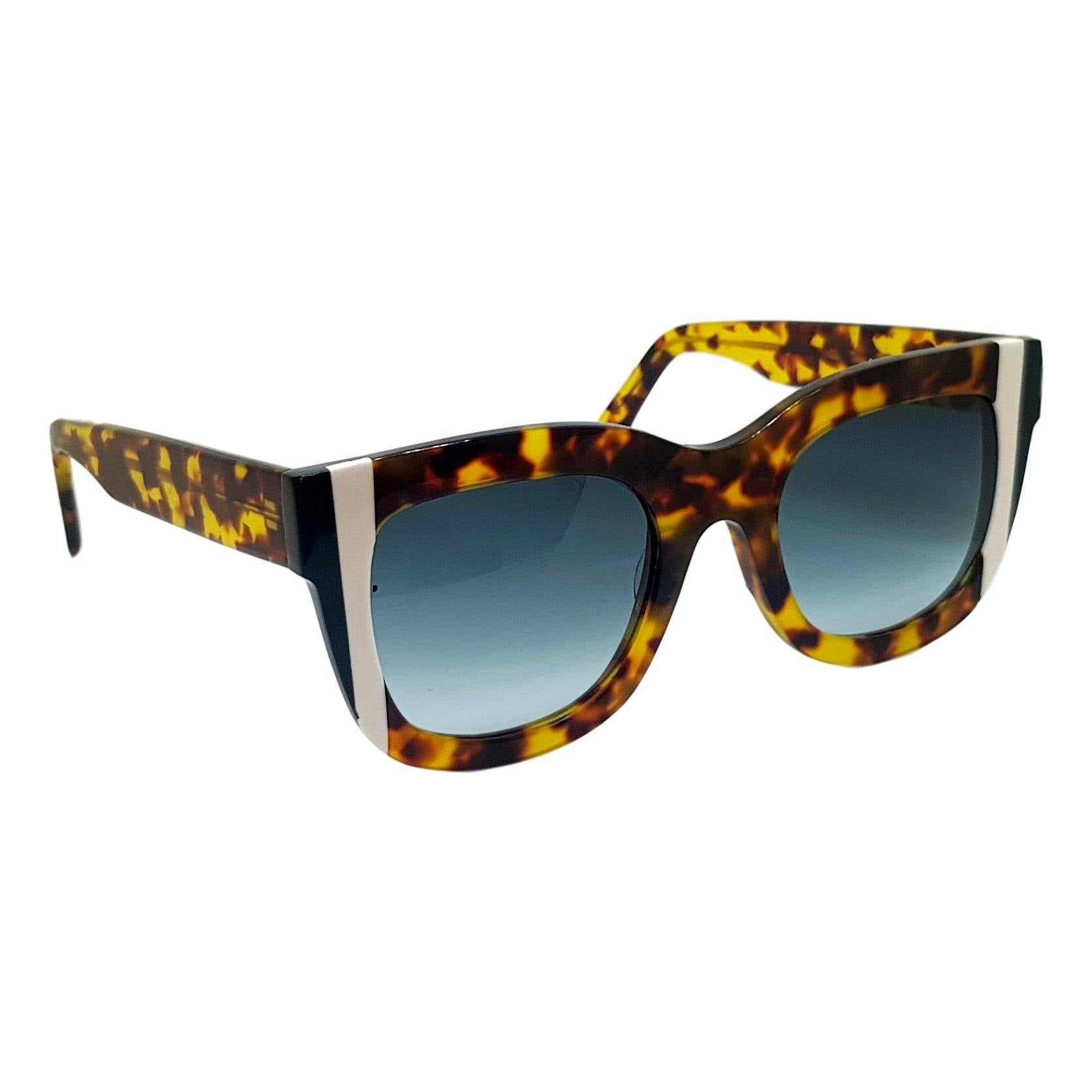 Gustavo Eyewear - G57- ANIMAL PRINT/ WHITE / GREEN