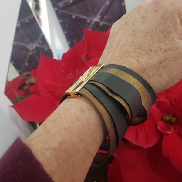 Marilia Capisani Rubber Ribbons Fashion Bracelete