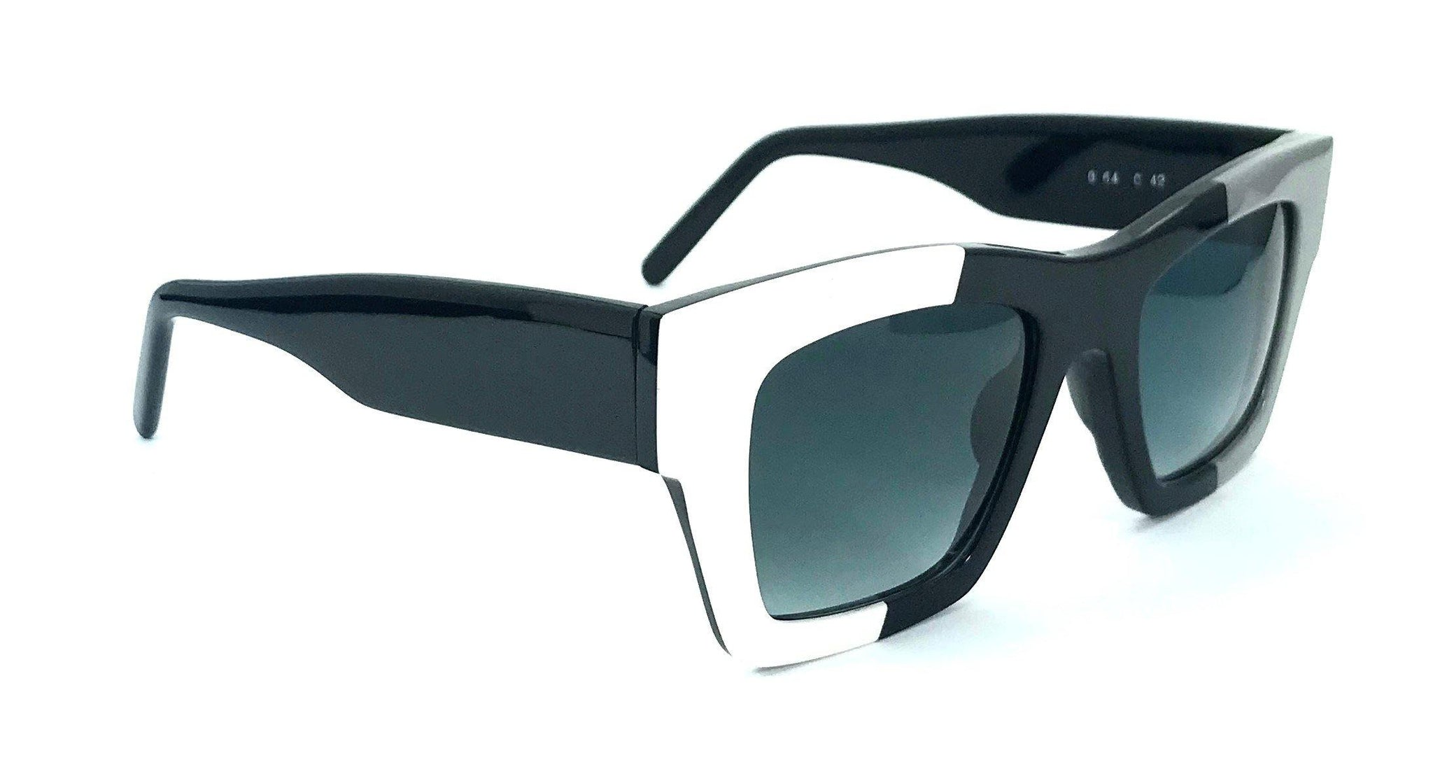 Gustavo Eyewear - G64 - WHITE - BLACK - GRAY
