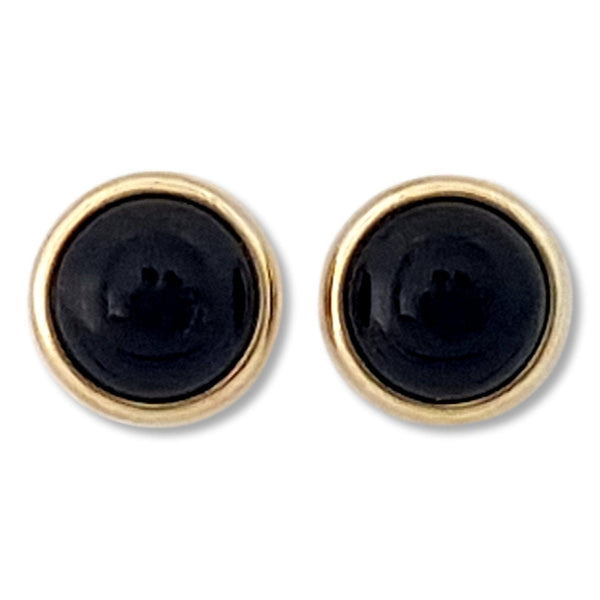 Magnetic Circle Gem Earring