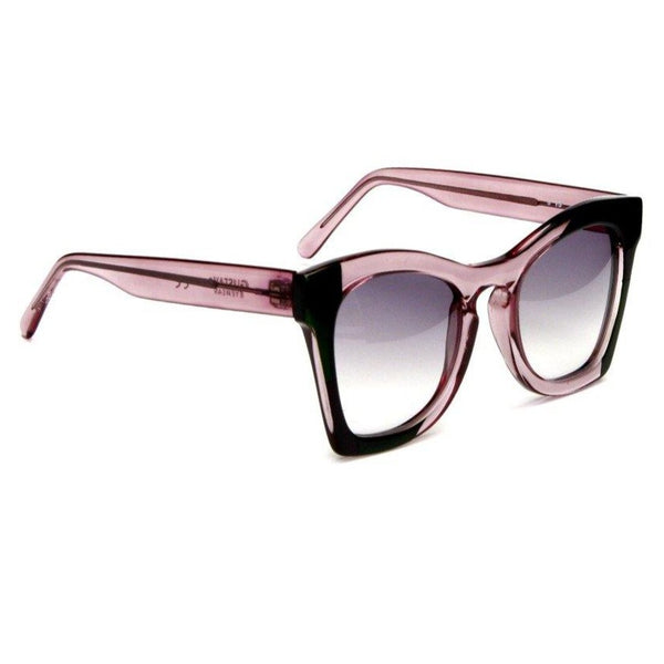 G75 - Gustavo Eyewear - Translucent and Black - Rio Design Europe