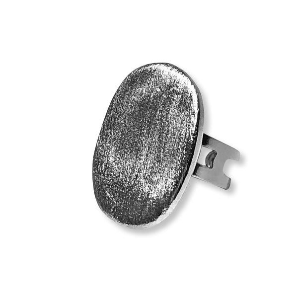 Medallion Ring- Silver - Rio Design Europe
