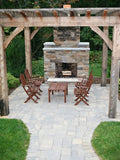 "Stone Age Manufacturing 36"" Standard Series Fireplace with Straight Lintel without Firebrick"