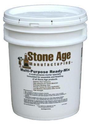 Stone Age Manufacturing 5 Gallons of Multi-Purpose Ready-Mix Mortar