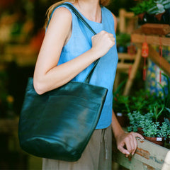 erin templeton, bag , bucket bag , vancouver, leather