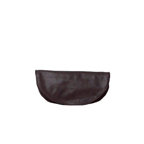 half moon clutch - recycled
