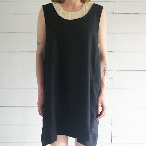 erin templeton tank dress - black