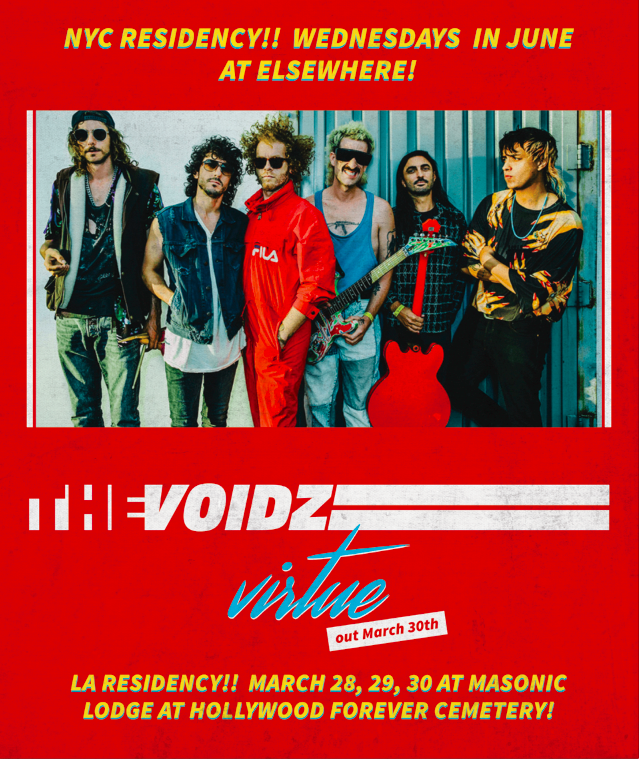 THE VOIDZ LA & NYC RESIDENCIES
