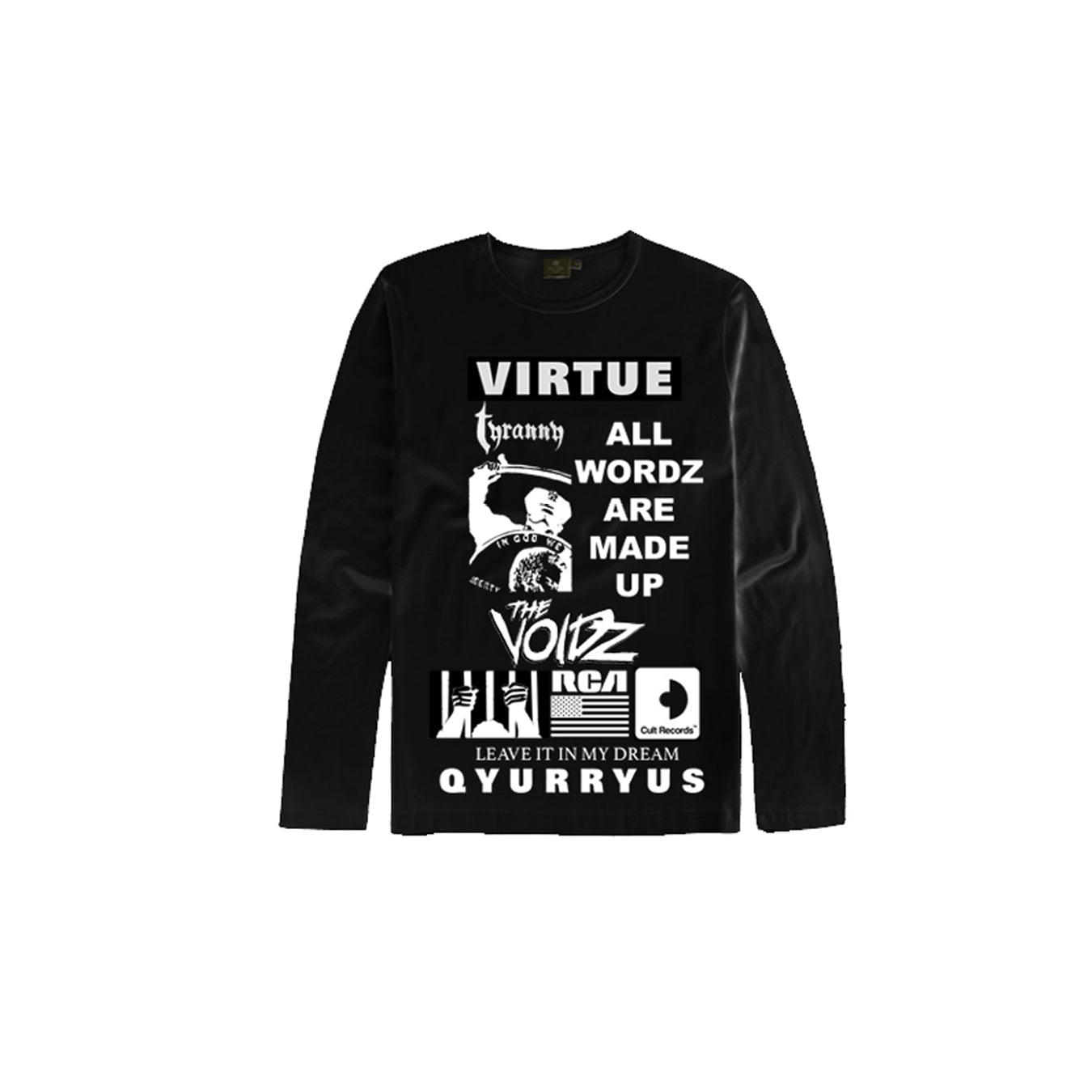 3d76bcccf Cult Records Store - The Voidz Virtue Long Sleeve