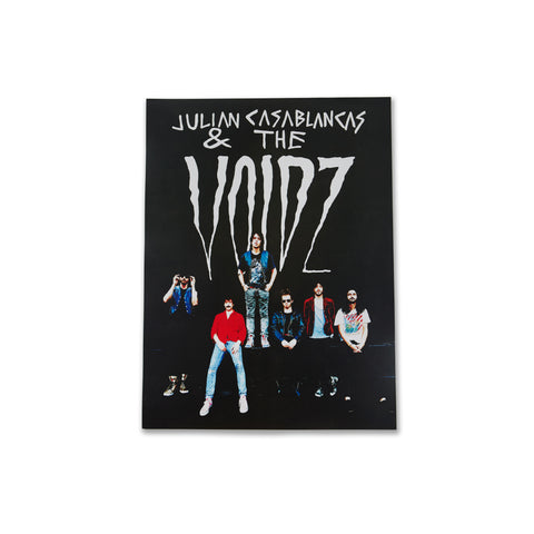 Julian Casablancas+The Voidz Double Sided Poster